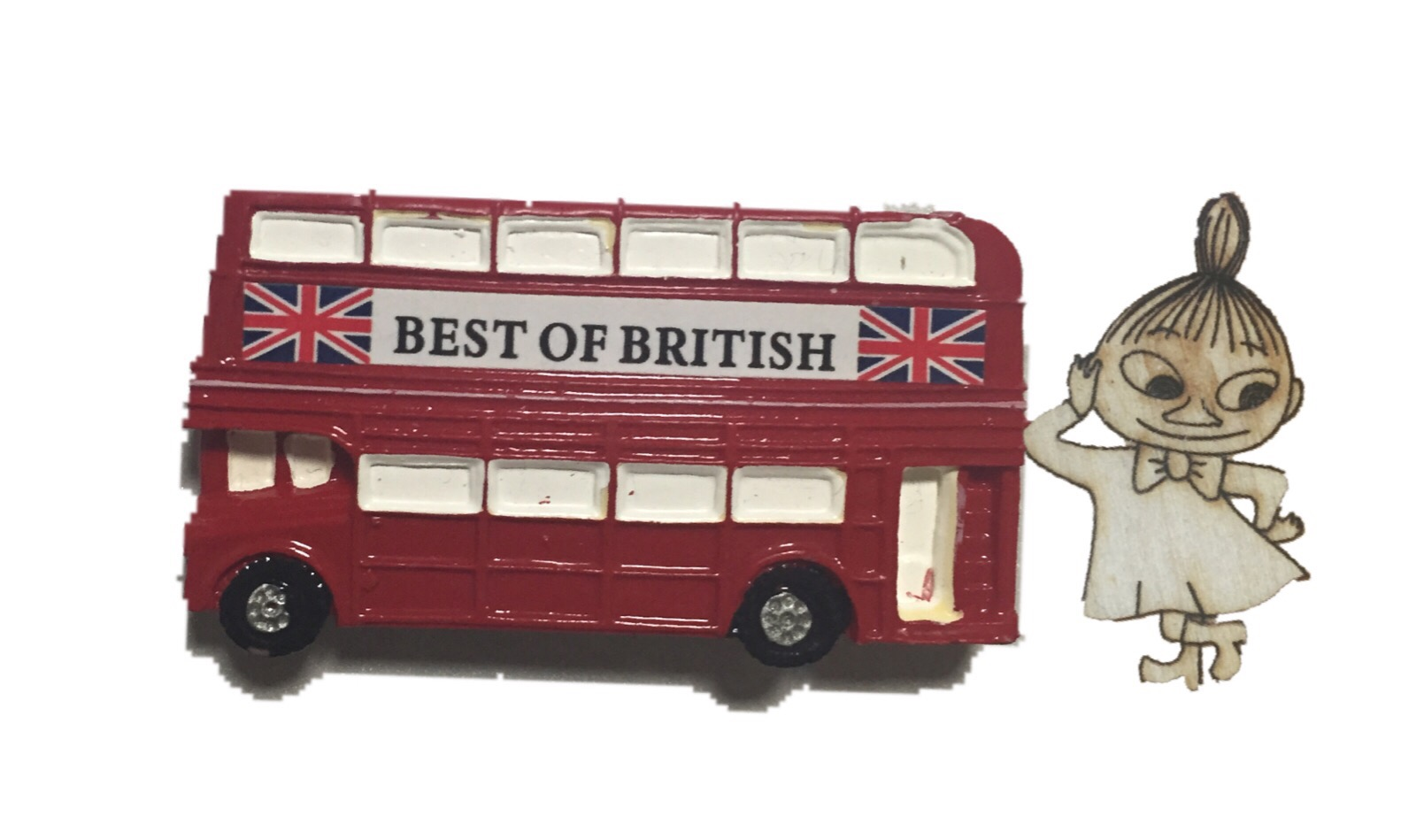 ロンドンバスとミィ